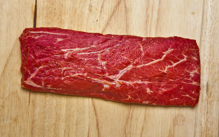 How the flat iron steak got its name.